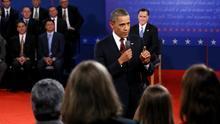 Obama derrota a Romney en el segundo debate