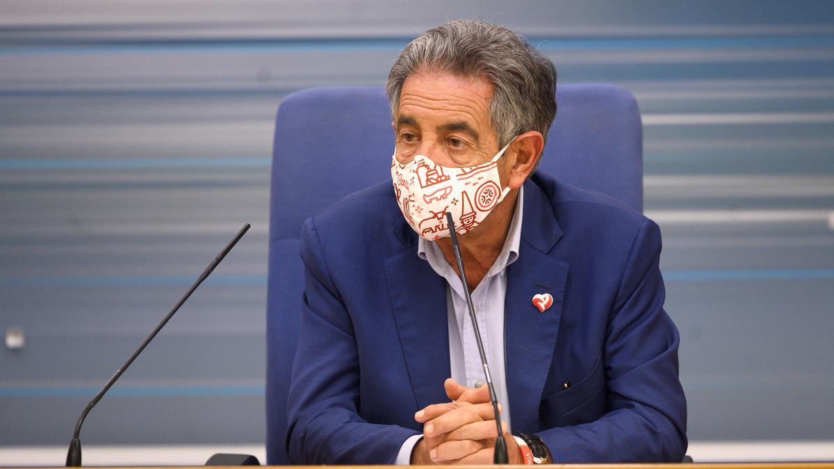 El presidente de Cantabria, Miguel Ángel Revilla (PRC).