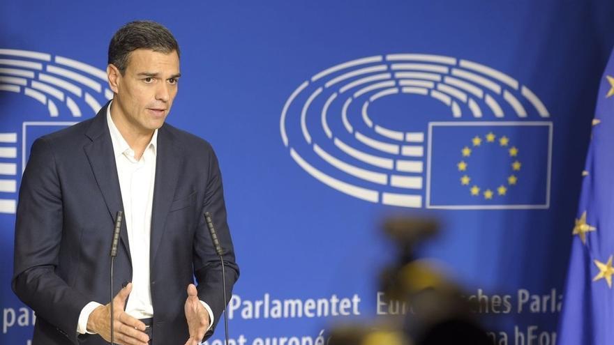 El PSOE destaca el apoyo la UE ante el secesionismo, tras reunirse Pedro Sánchez con Juncker