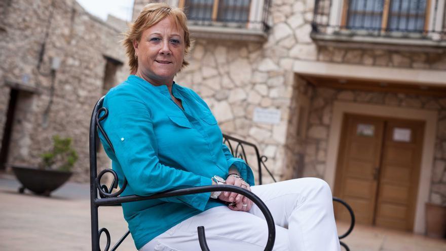La exalcaldesa y actual portavoz del PP en La Muela, Marisol Aured. Foto: Juan Manzanara