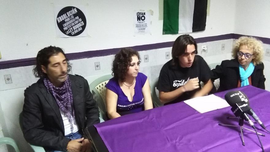 """El líder de Podemos en Málaga responsabiliza a la dirección del partido de la """"derechización"""" de la formación"""