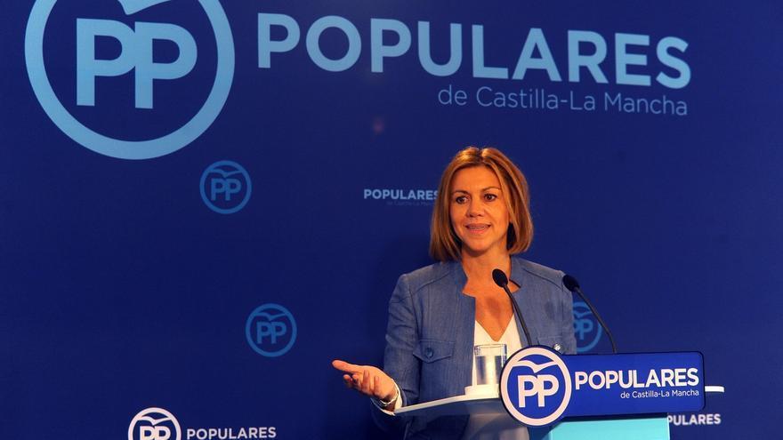 """Cospedal: """"Los políticos no somos artistas y no somos tertulianos, somos políticos"""""""