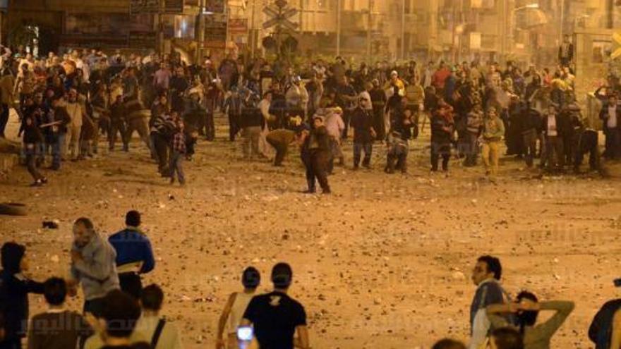 Duros enfrentamientos en Mahalla, bastión del movimiento obrero (Foto de Noai Lagati)