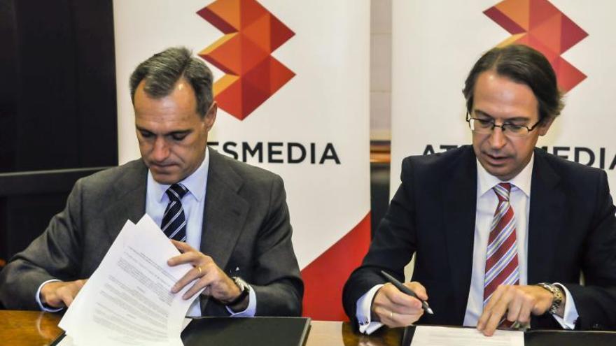 La Agencia EFE y Atresmedia firman un acuerdo para divulgar el 75 aniversario