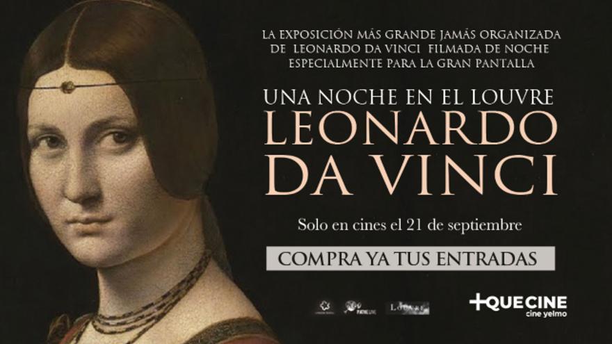 Consigue entradas para el documental 'Una noche en el Louvre'