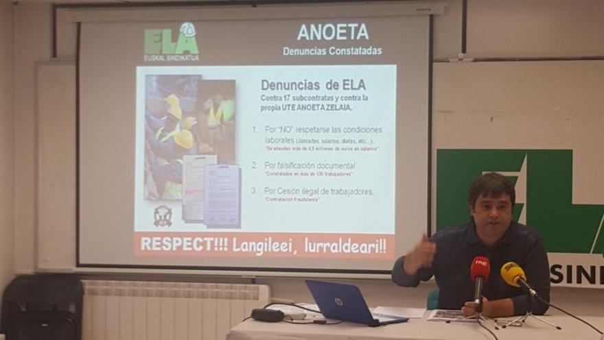 """ELA denuncia el """"fraude sistémico"""" en las obras de remodelación del estadio de Anoeta en San Sebastián"""