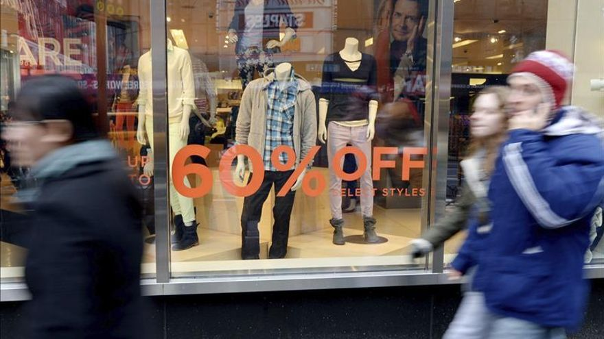 El crecimiento de la economía de EE.UU. se ralentizó en el último trimestre de 2014