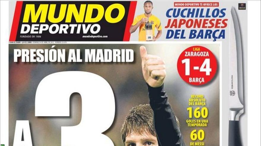 De las portadas del día (08/04/2012) #13