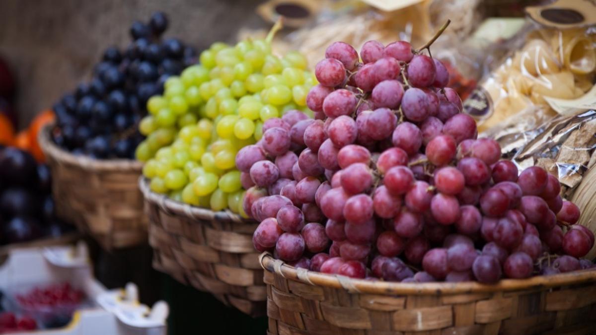 Uvas de producción ecológica