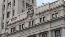 Sede principal del Cabildo de Tenerife, en la plaza de España