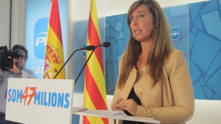 Camacho urge al PSC a abandonar la comisión del 'derecho a decidir' del Parlamento catalán