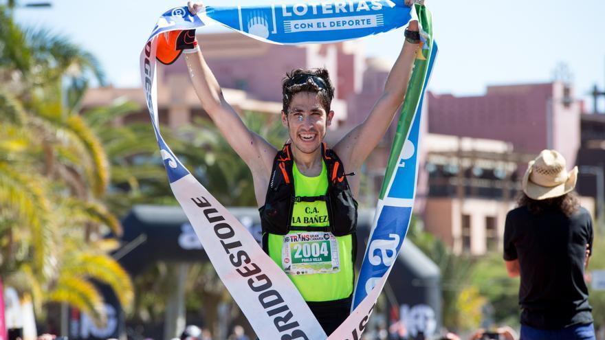 Pablo Villa en el Campeonato de España de Trail