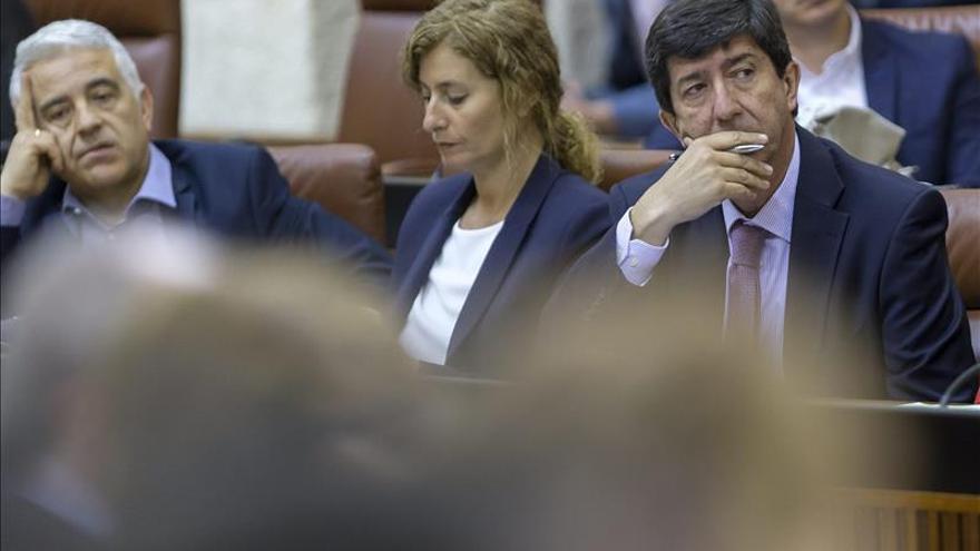 """C's reclama a Díaz cambios """"profundos"""" contra la corrupción y el desempleo"""
