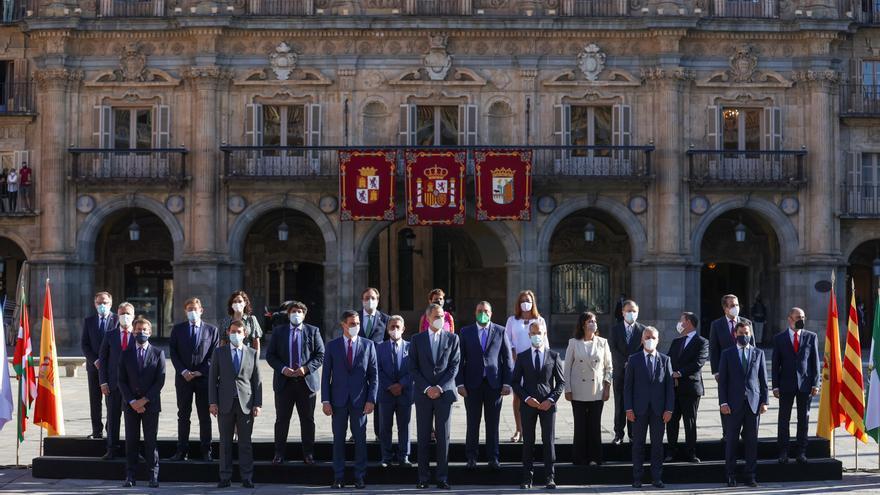 Comienza la XXIV Conferencia de Presidentes con la presencia del rey