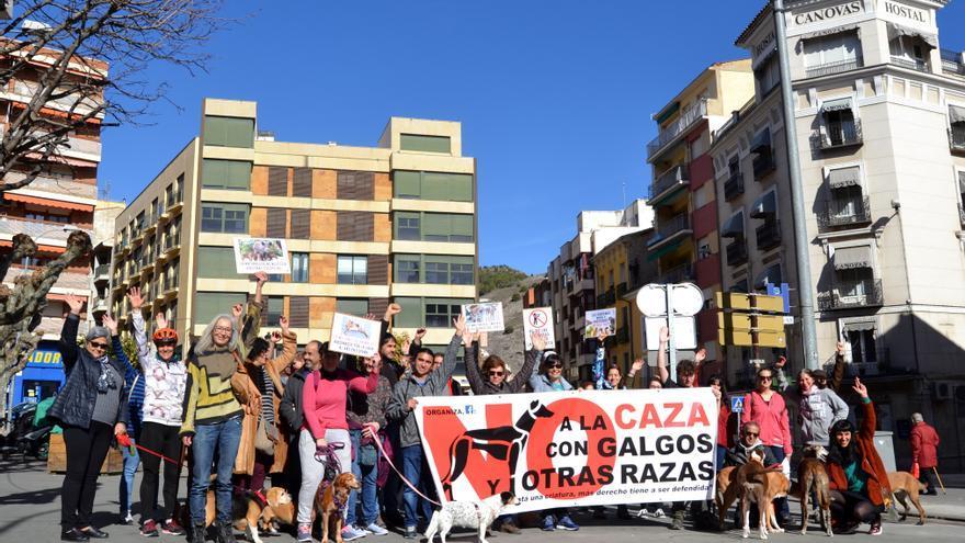 Manifestación en Cuenca FOTO: Cuenca Antiespecista