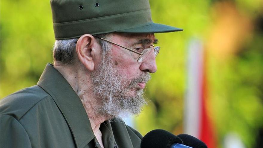 """Fidel Castro felicita a Maduro por su discurso ante los """"brutales planes"""" de EEUU"""