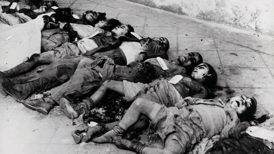 La mayoría de las víctimas del bombardeo de la plaza Felip Neri fueron niños
