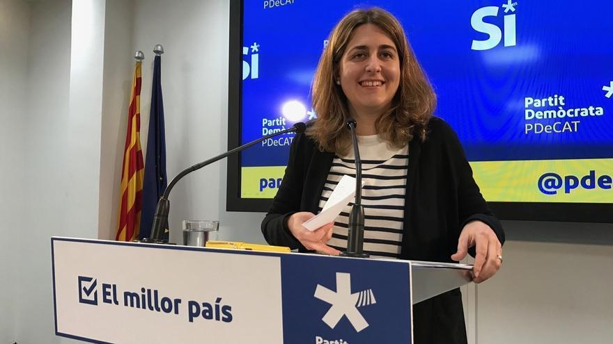 """El PDeCAT recuerda que Chacón trabajó por """"la normalización de la mujer en política"""""""