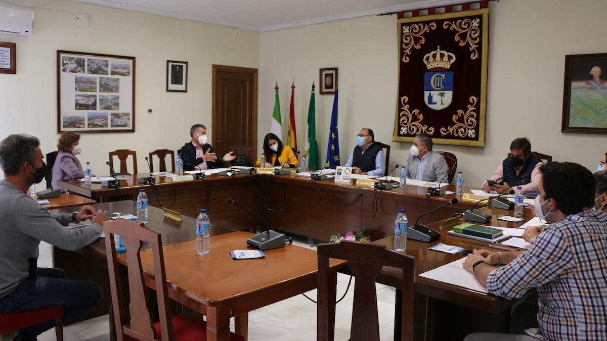 El grupo provincial de IU visita Fuente Palmera.