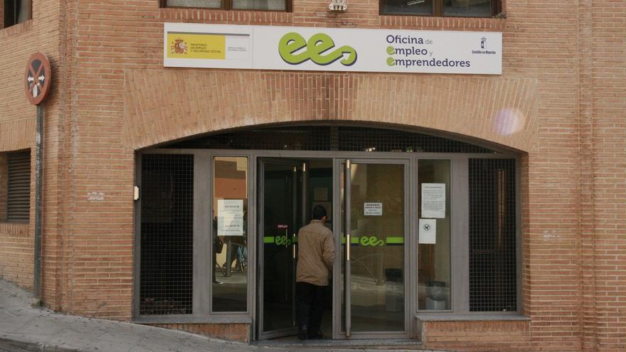 Oficina de empleo en Castilla-La Mancha.