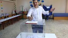 """Tsipras pide el voto para que """"los sacrificios no hayan sido en balde"""" ante los pronósticos de un vuelco a la derecha"""