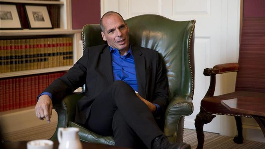 La bolsa de Atenas suma un alza espectacular del 11 por ciento por el mensaje de Varufakis