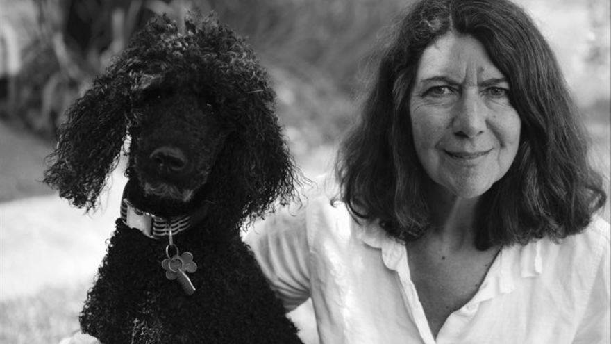 Jessie Hartland, autora de 'Steve Jobs. La biografía ilustrada' (Imagen: Isabelle Dervaux)
