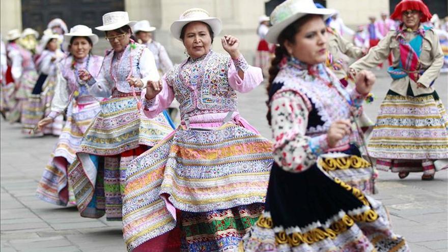 La danza peruana Wititi, o del cortejo amoroso, es reconocida por la Unesco