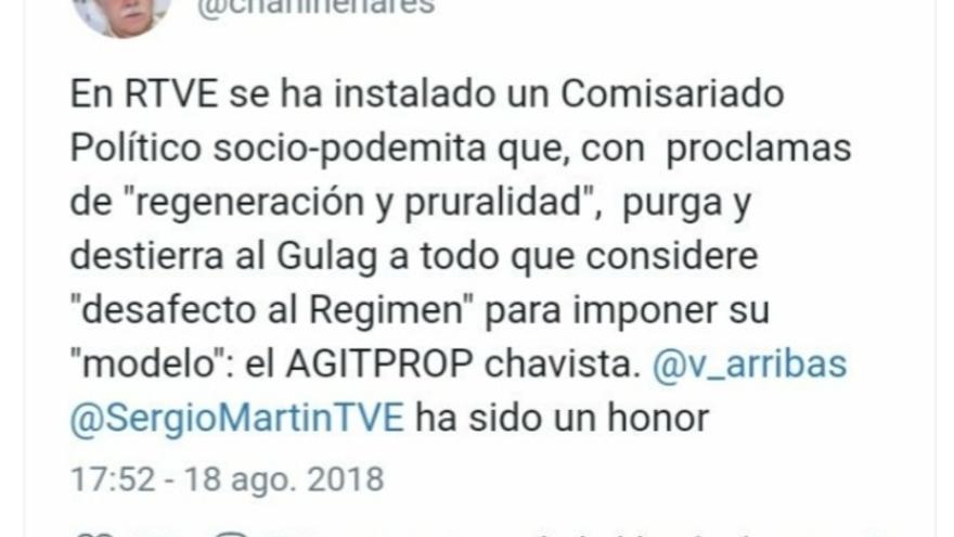 Tuit Chani Pérez Henares