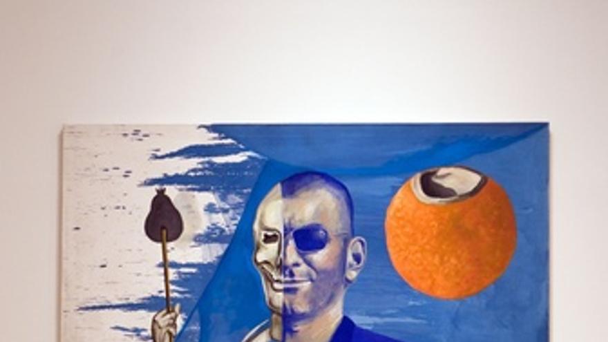Obra de la muestra 'Kippenberger miró a Picasso' que acoge el Museo Picasso Mála