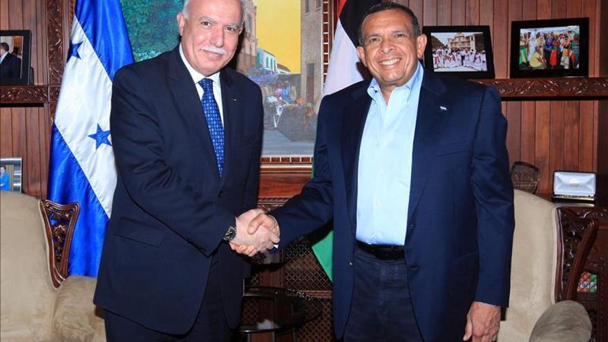 Honduras y Palestina establecen relaciones diplomáticas