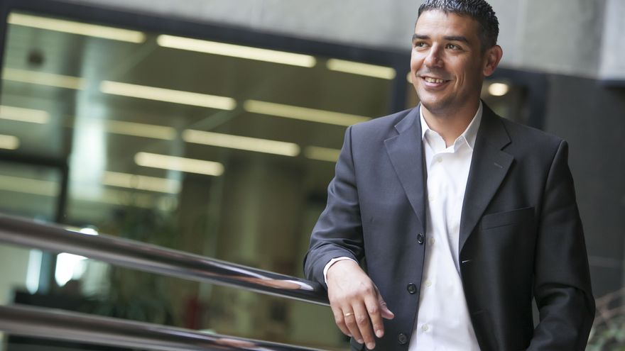 Narvay Quintero, responsable de Pesca en Canarias, en un retrato reciente