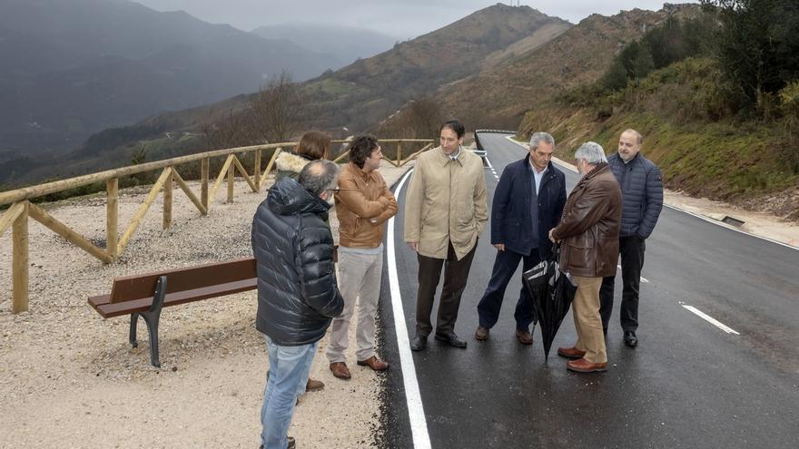 Inaugurado el acceso al Soplao desde Celis, tras invertir el Gobierno 823.000 euros