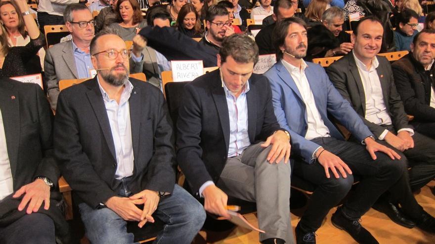 """Girauta (C's): """"PP y PSOE son tan vieja política como CDC y ERC"""""""