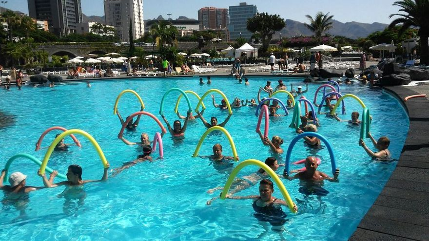 Una de las actividades de Ansina desarrollada en el Parque Marítimo de Santa Cruz
