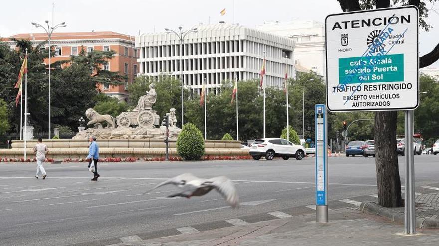 La tasa de criminalidad ha bajado más desde que está Madrid Central