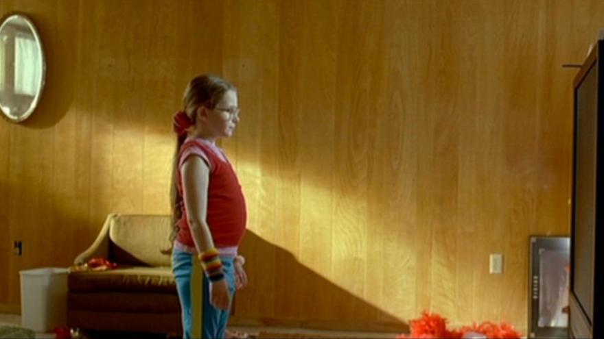 Abigail Breslin en 'Pequeña Miss Sunshine'