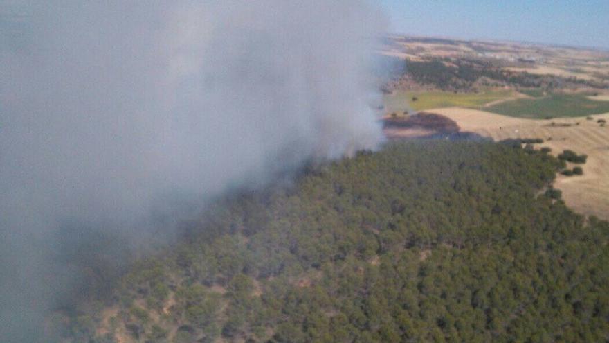 Incendio en Pinarejo, Cuenca