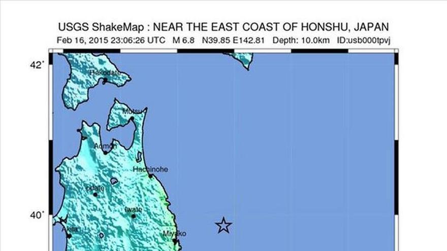 Un terremoto de 6,9 sacude el norte de Japón con alerta de tsunami