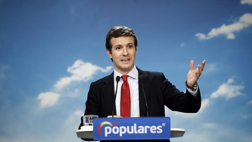 """Casado se abre a colaborar con Cs si hay elecciones con fórmulas como 'Navarra Suma' para """"optimizar"""" votos"""