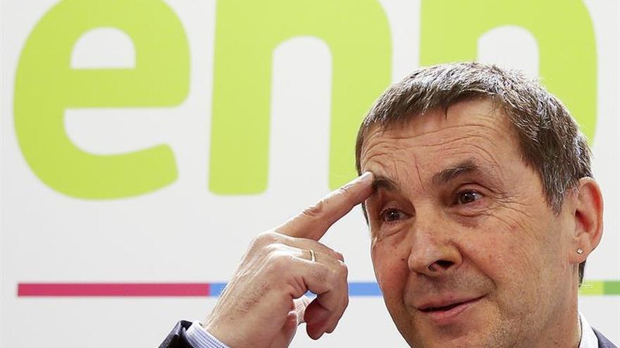 """Otegi: """"El desarme de ETA es un acto de desobediencia y de soberanía popular"""""""