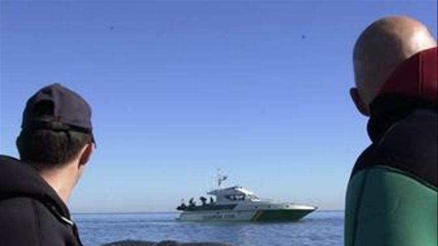 Guardia civil mar salvamento