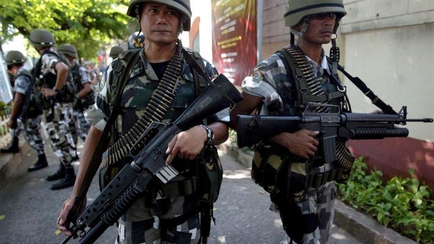 Al menos 7 soldados de la Guardia Presidencial filipina heridos por explosión