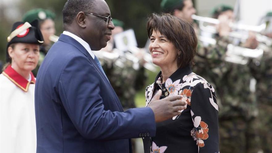 El presidente senegalés aborda en Suiza la colaboración económica e internacional