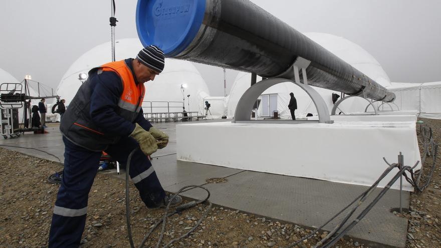 La extracción de gas en Rusia cayó en 2012 el 2,3 por ciento