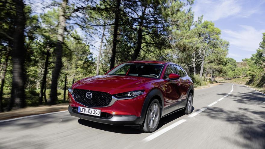 Mazda competirá en el segmento de los todocaminos compactos con el nuevo CX-30.