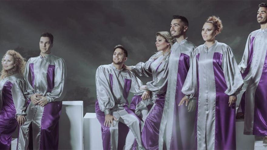 En la imagen, la formación Rainbow Gopsel Choir.