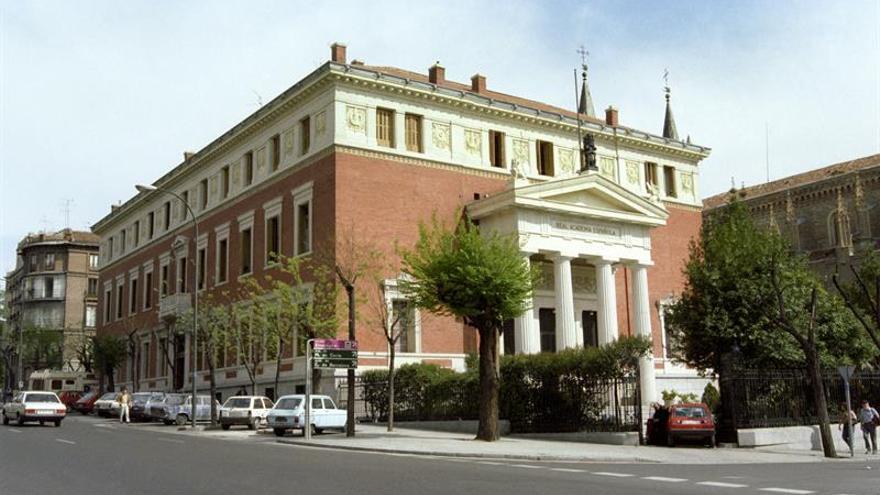 Sede de la Real Academia de la Lengua
