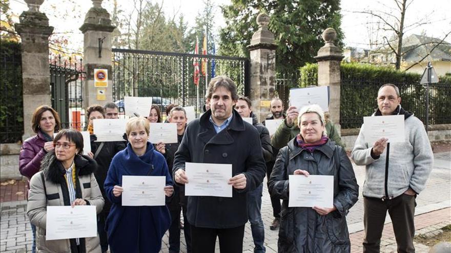 """EH Bildu: La Constitución es una """"imposición"""" para Euskadi y Cataluña"""