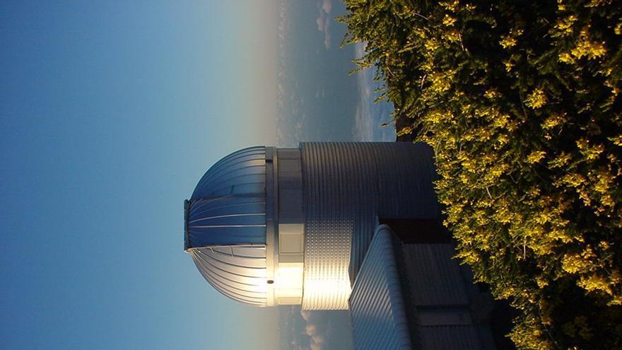 En la image, el Telescopio Mercator.